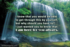 am Here For You Always