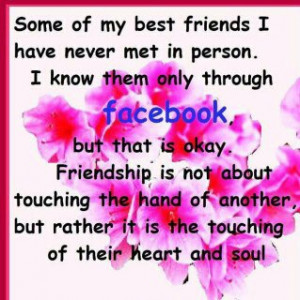 Facebook Friends Quotes : Friendship Quotes facebook