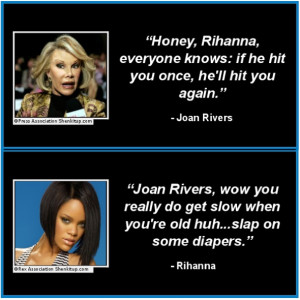 great celebrity quotes of 2012 rihanna and joan rivers