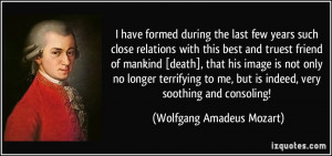 close relations with this best and truest friend of mankind [death ...