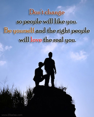 Advice Quotes-Thoughts-Be yourself-People-Real Love-Best Quotes