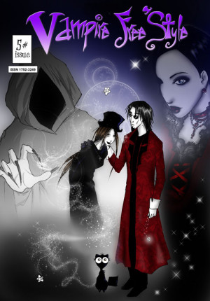 More cute goth stylings with a manga touch from Jenika Ioffreda. I ...