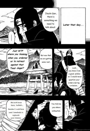 Itachi Quotes To Kisame Re: kisame & itachi vs 3