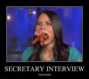 Selecting a secretary