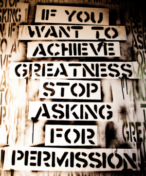You Can Watch Greatness or Choose To Be Great!