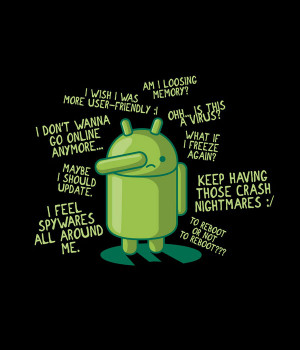 PARANOID-ANDROID-Funny-Poster