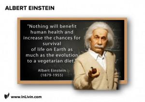 Albert Einstein On Vegetarianism