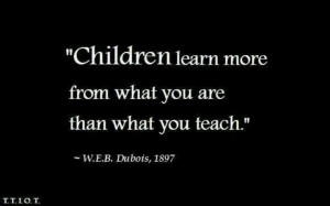 Dubois quote on children learning