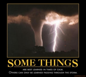 TAGS: aprchallenge thunderstorms some lessons are tougher