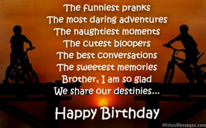 Birthday Wishes Quotes For Brother Birthday wish for brother