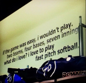 Softball quotes, sports, sayings, best, game