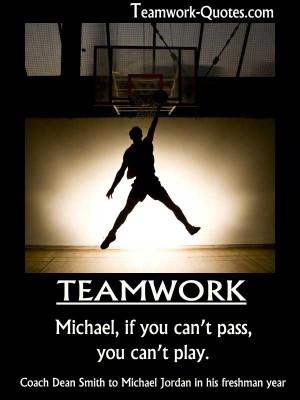 basketball teamwork quotes #