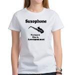 Funny Saxophone Women's T-Shirt