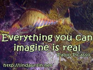 Everything you can imagine - Sassy Sayings - http://lindaursin.net