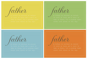 Father's Day Quote – Express Your Love to Your Dad