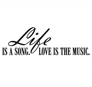 """Inspirational Music Quote 9: """"Music, love, and photography is all i ..."""