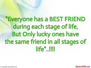 Best Friends For Life Quotes everyone has a best friend