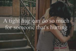 friends, help, hugs, sad
