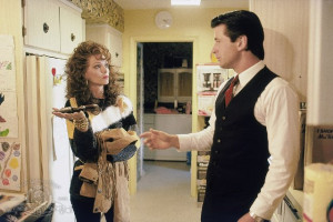 ... of Michelle Pfeiffer and Alec Baldwin in Married to the Mob (1988