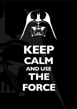 Darth Vader words of wisdom