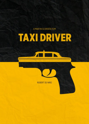 Taxi Driver poster by Bruce Yan