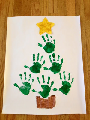 ... the Home}: A Charlie Brown Christmas and Hand Print Christmas Trees