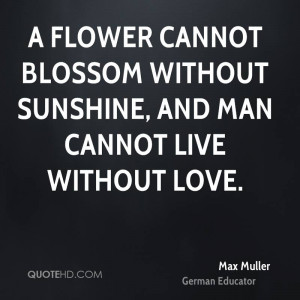 Max Muller Love Quotes