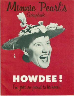 Hee Haw Minnie Pearl
