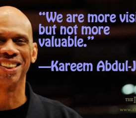 Quote of the Day: Kareem Abdul-Jabbar on Athletes