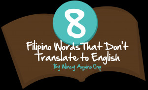 Filipino Words That Don't Translate To English