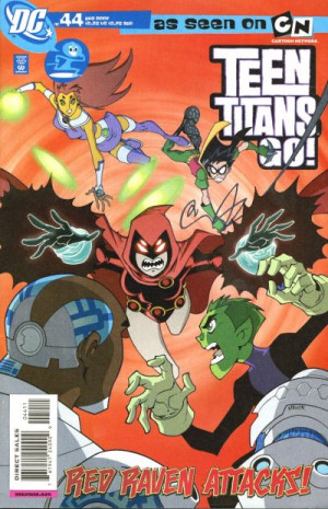 Cover for Teen Titans Go #44 (2007)