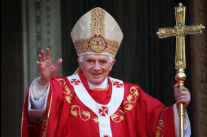 Pope Benedict XVI ( Philip Chidell / Shutterstock.com )