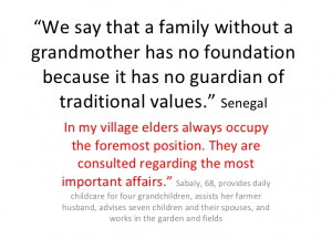 Quotes About Grandmothers In Spanish Without a grandmother has