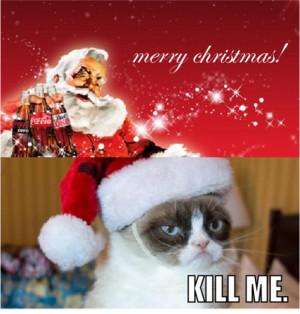 funny grumpy cat pictures , grumpy cat , Grumpy Cat Hates Christmas ...