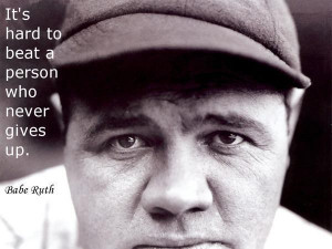 quote history poster motivational baseball quote 1 for me baseball ...