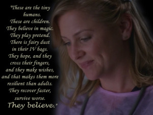 Grey's Anatomy Arizona about