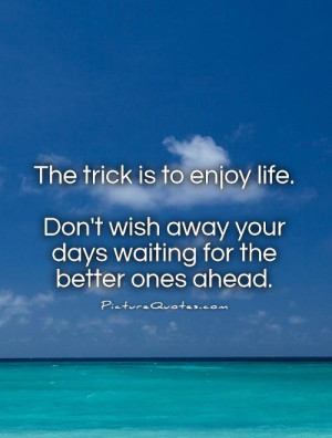 Waiting Quotes Enjoy Life Quotes