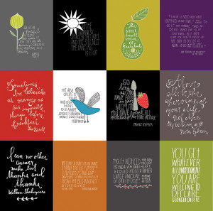 ... Books to publish a book of 100 of my hand lettered quotes from the