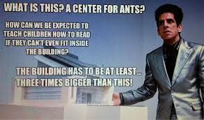 zoolander center for children who can't read and want to learn to do ...
