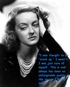 images of bette davis quotes | Bette Davis Pictures, Images and Photos ...
