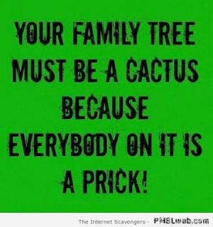 Funny Quotes Family Tree