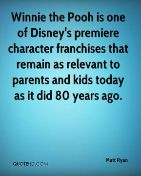 Winnie the Pooh is one of Disney's premiere character franchises that ...