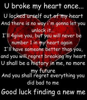 broken heart quotes wallpaper