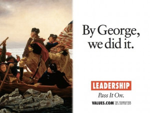 Read the story behind the official billboard for leadership .