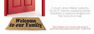 time, our church is co-hosting an event called Welcome to our ...