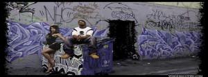Gangsta Timeline Cover: Gangsta Timeline Covers Ghetto Alley graffiti