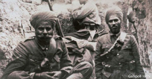 Sikh soldiers in WW1