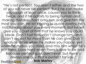 He's Not Perfect