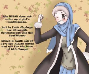 hijab by zhar nee manga anime digital media drawings 2013 2015 zhar ...