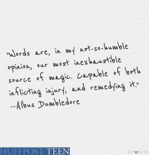 Quotes From Books, Albus Dumbledore Quotes, Harry Potter Quotes (Word ...